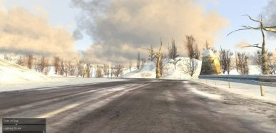 Sundog's SilverLining 3D Clouds and Dynamic Sky in a Unity project.