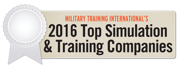 2016 Top Simulation & Training Company Ribbon