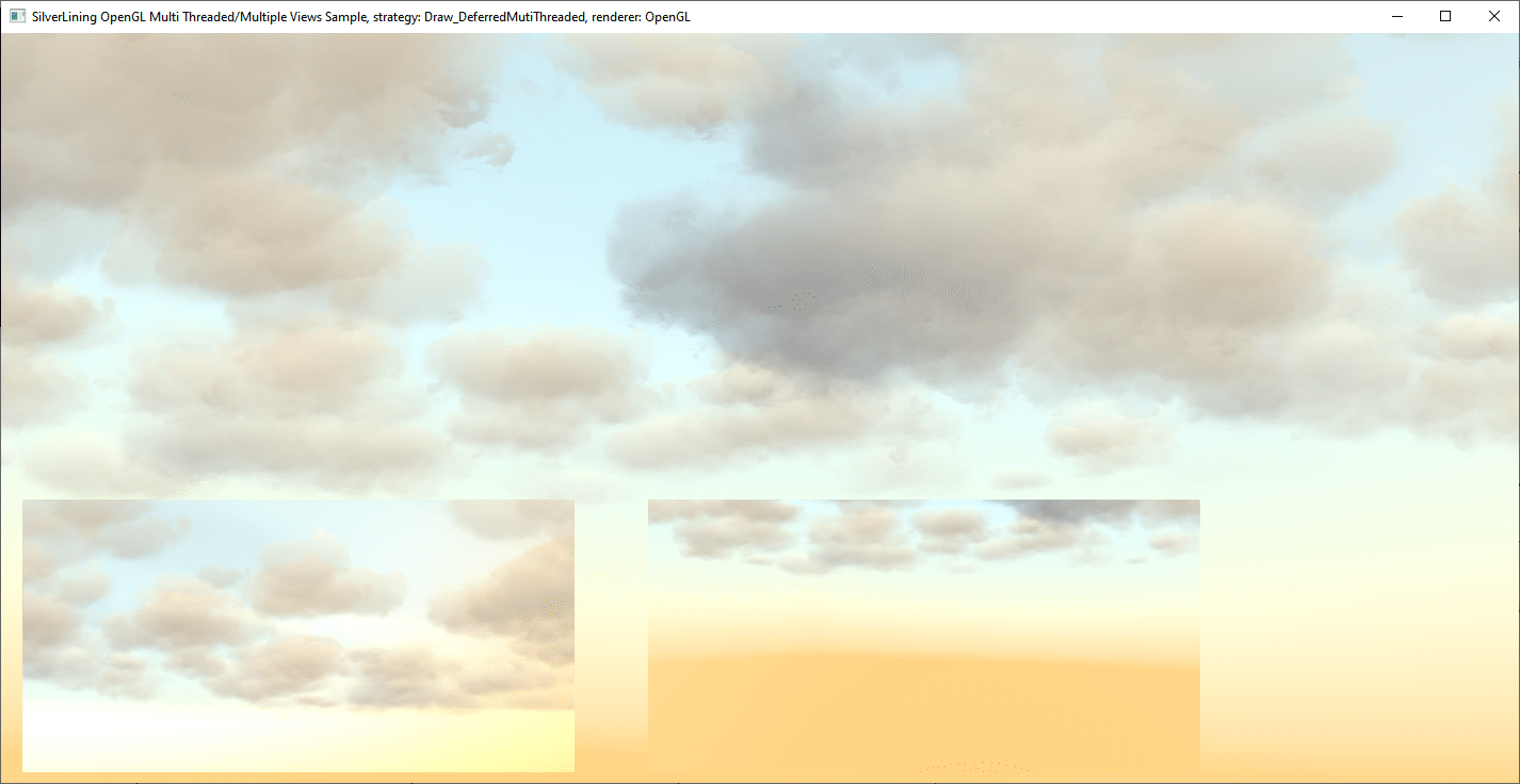 SilverLining 6 multi-threaded demo